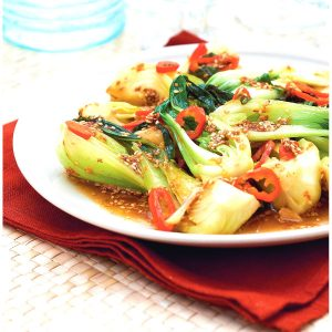 Bokchoy in Sweet Chilly Sauce