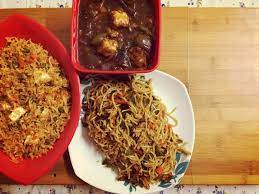PANEER SIZZLER (Veg Chowmein/Fried Rice, Chilli Paneer, Chilli Potato and Cold Drink)