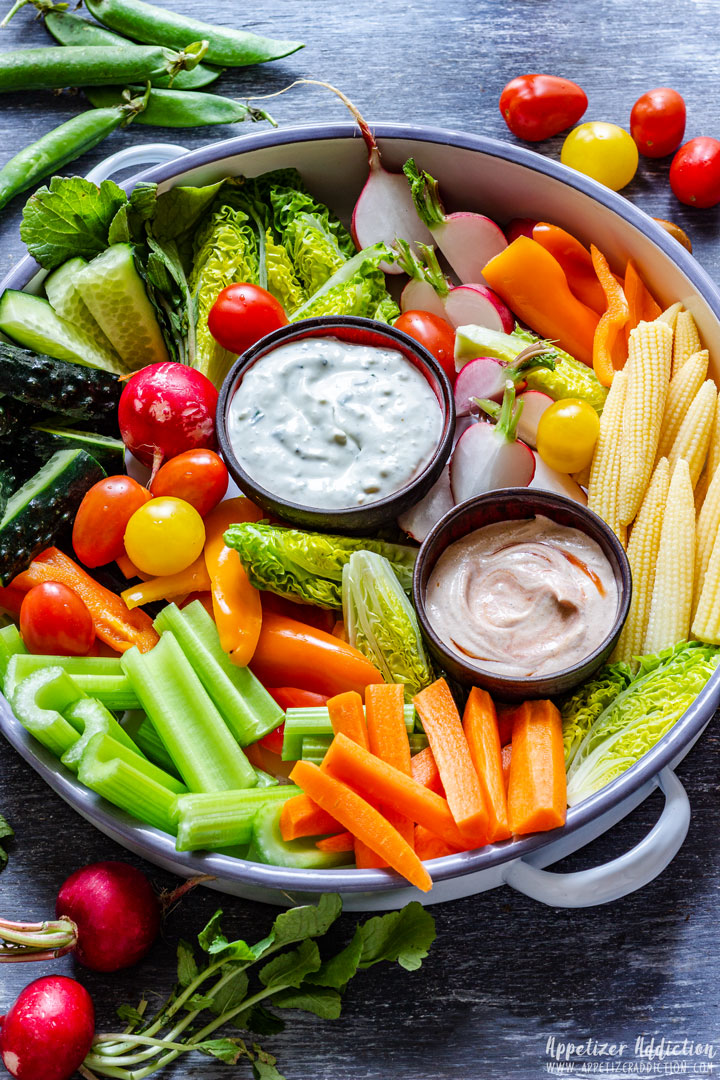 Hummus with Exotic Vegetables1